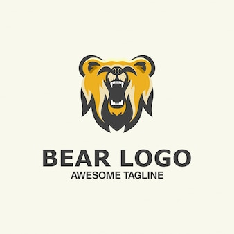 Bear esport logo geweldige inspiratie