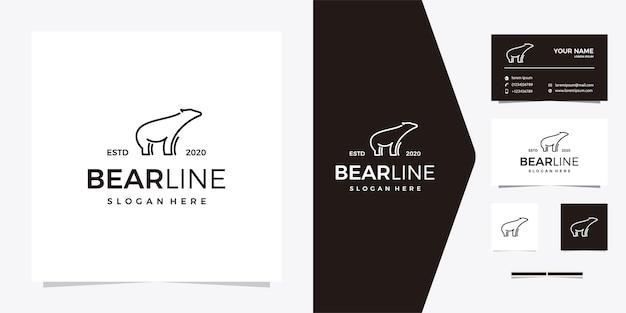 Bear line logo