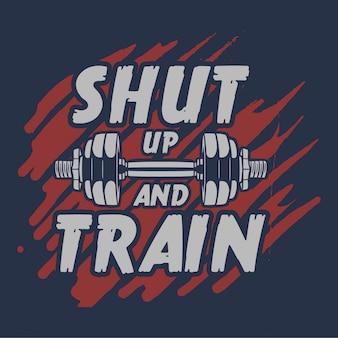 Beast-modus slaapt nooit citaat slogan motivatie flyer poster bodybuilding gym fitness man spier voor het bedrijfsleven