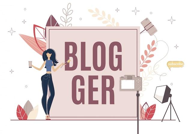 Beauty blogger praten over life hacks voor skin