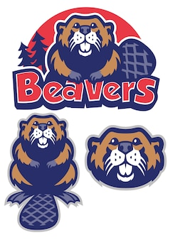Beaver mascotte