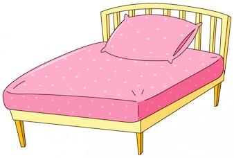 Afbeeldingsresultaat voor roze icoon bed