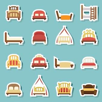 Bed pictogrammen