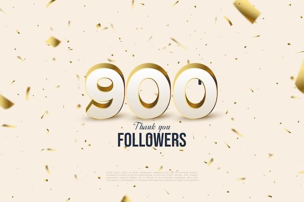 Bedankt, 900k volgers