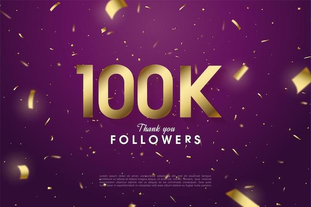 Bedankt aan 100.000 volgers