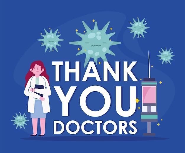 Bedankt dokters