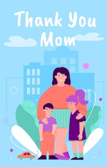 Bedankt mam - moederdag
