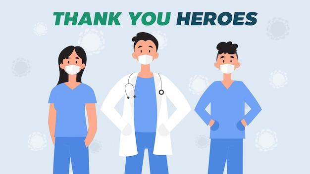 Bedankt onze held