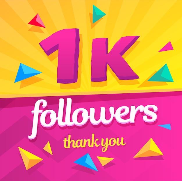 Bedankt volgers