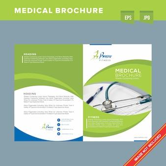Bedrijfs medische brochure