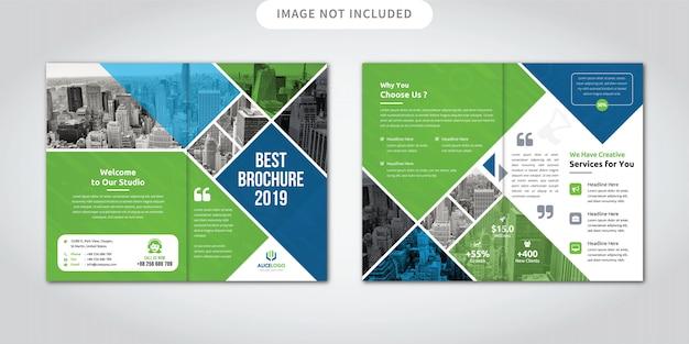 Bedrijfsbrochure brochure-vouw