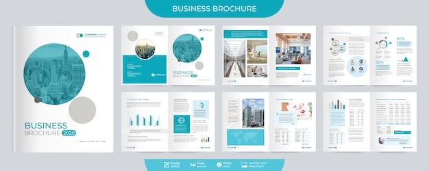Bedrijfsbrochure en voorstelsjabloon