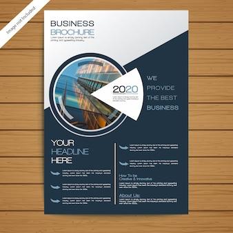 Bedrijfsbrochure / flyer-sjabloon
