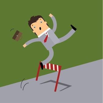 Bedrijfsconcept in mislukking