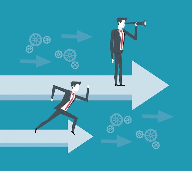 Bedrijfsleider en visionair