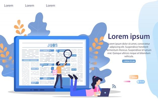 Bedrijfsleider job search employee magnifier
