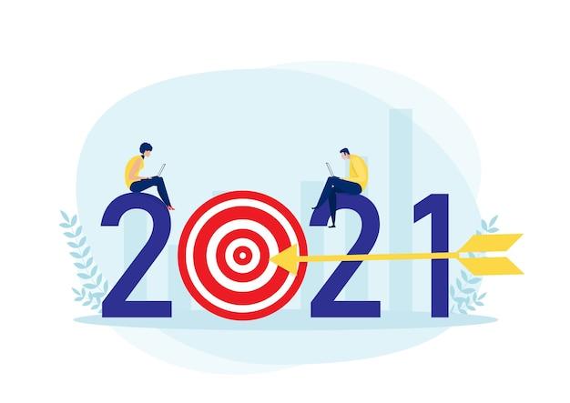Bedrijfsplan voor 2021 en doelrealisatie