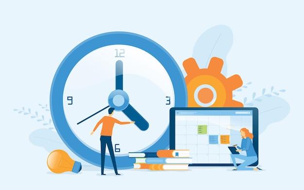 Bedrijfsplanning ontwerpconcept