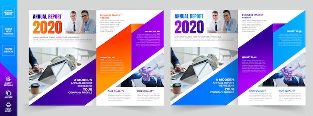 Bedrijfsprofiel brochure template