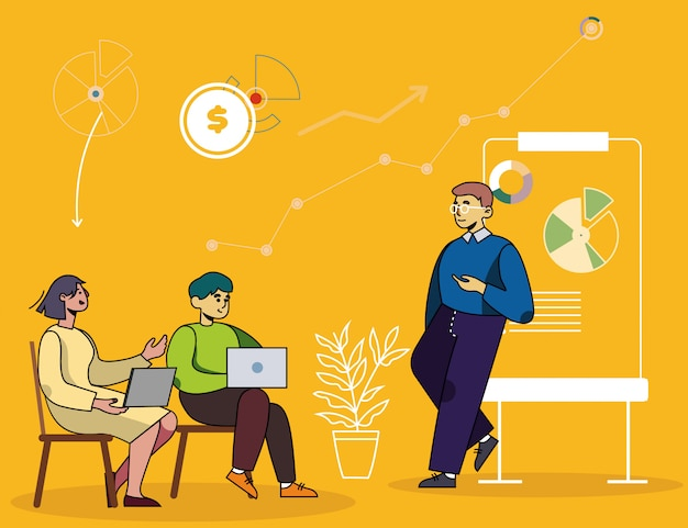 Bedrijfsseminarie, financiële of marketingcursus