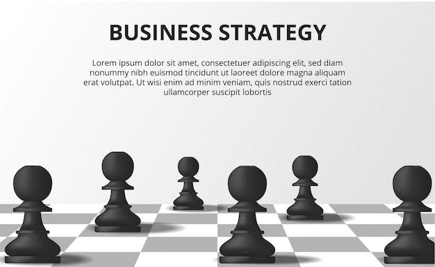 Bedrijfsstrategie concept