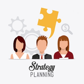 Bedrijfsstrategieontwerp.