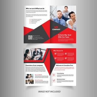 Bedrijfsvak brochure ontwerpsjabloon