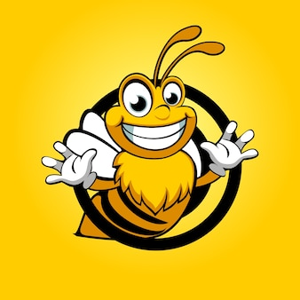 Bee grappig