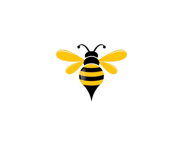Bee logo pictogram illustratie