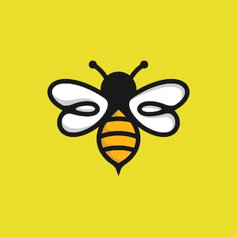 Bee logo sjabloon
