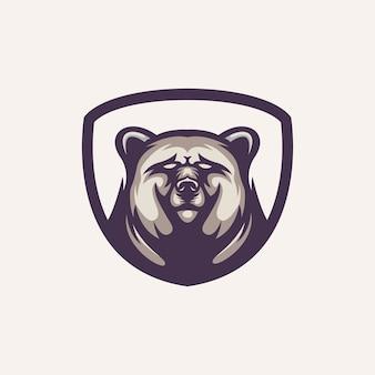 Beer logo sjabloon