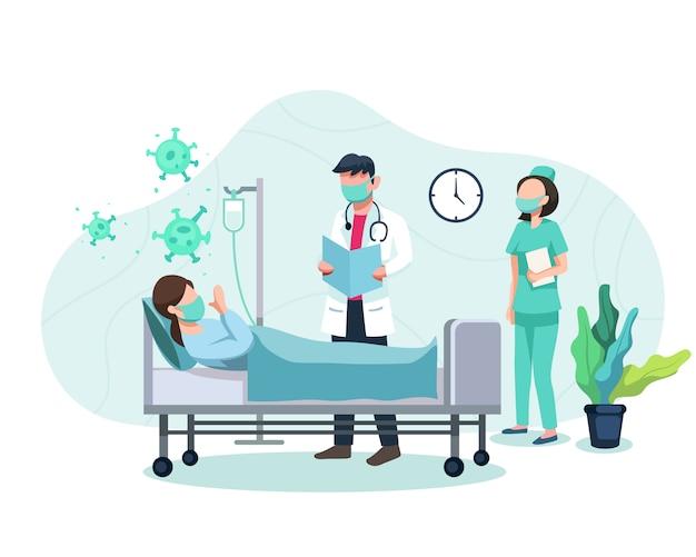 Behandeling van patiënten blootgesteld aan het covid-19-virus
