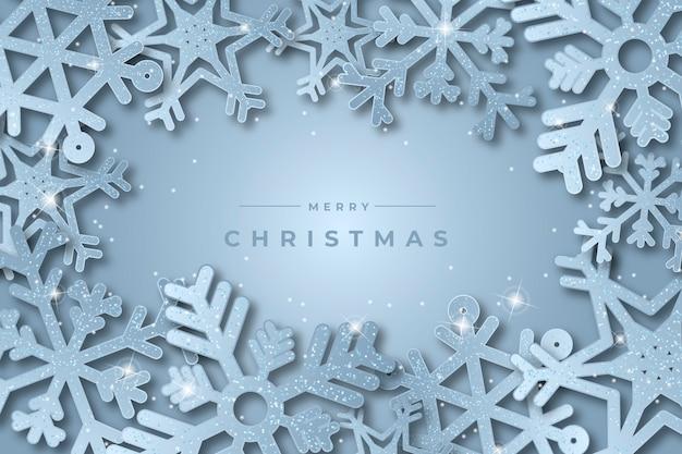 Behang met kerstthema