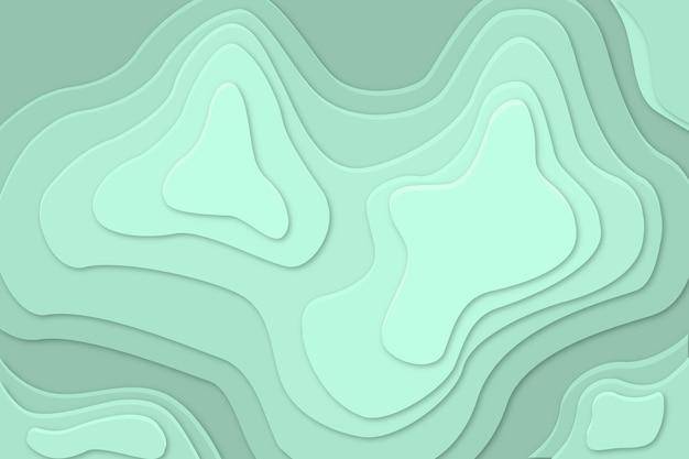 Behang met topografie
