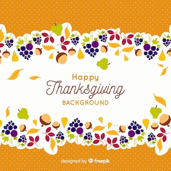 Behangconcept voor thanksgiving day