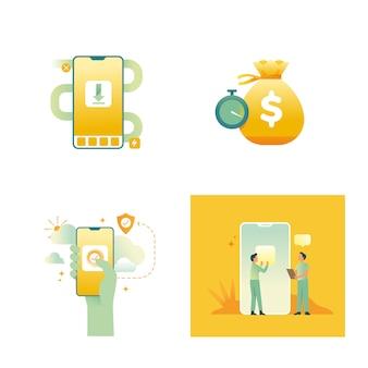 Beheer persoonlijke financiën concept