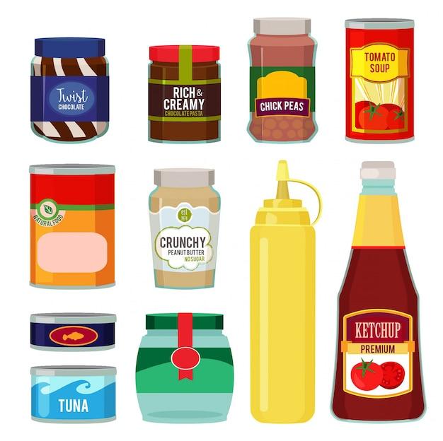 Behoud van tomaten, vis, groenten en andere voedingsmiddelen