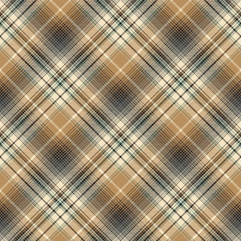 Beige abstract plaid naadloos patroon