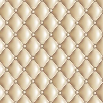 Beige gewatteerde textuur