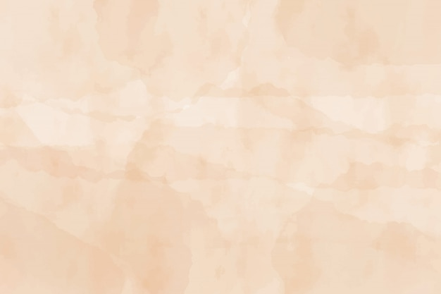 Beige oude natte papier aquarel grunge getextureerde achtergrond