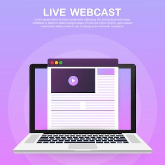 Bekijk video online sjabloon
