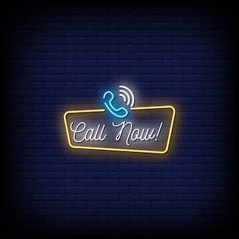 Bel nu neon signs style text