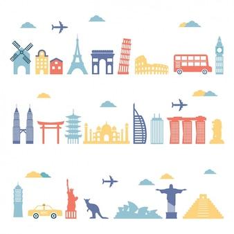 Belangrijke monumenten van de wereld