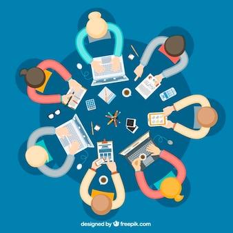 Belangrijke zakelijke bijeenkomst