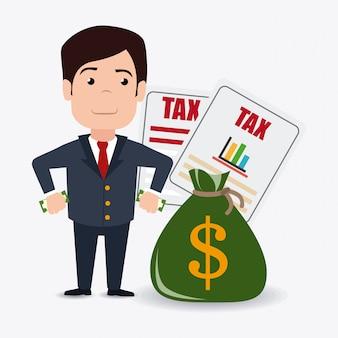 Belastingen ontwerp.