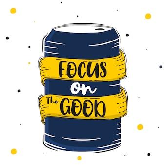 Belettering: focus op het goede