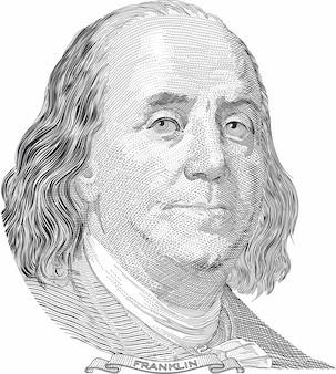 Benjamin franklin-portret