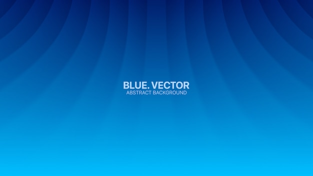 Bent smooth lines business blue abstract background