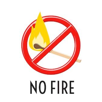 Beperking en verbod op vonken en vlammen