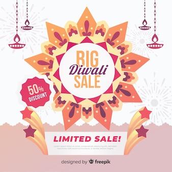 Beperkte verkoop van grote diwali-aanbiedingen